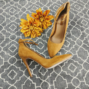 🆕 XXI Mustard Pump High Heels Sz 7.5